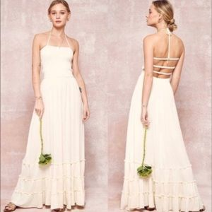 Lovely halter maxi dress